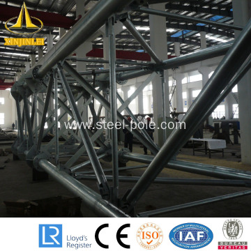 galvanized electric customed steel Tubular Pole